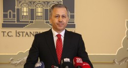 İstanbul Valisi Ali Yerlikaya'dan, Süleyman Soylu'ya baş sağlığı