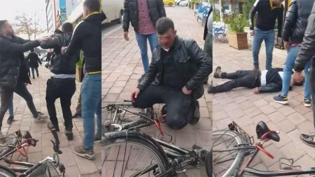 """Meydan dayağı yiyen bisikletli taciz şüphelisi: """"Tanıdık sanmıştım"""""""