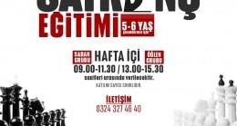 Yenişehir Belediyesinden Ücretsiz Satranç Eğitimi