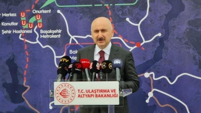 Bakan Karaismailoğlu: 'Başakşehir-Kayaşehir metro hattını yıl sonunda açmayı planlıyoruz'