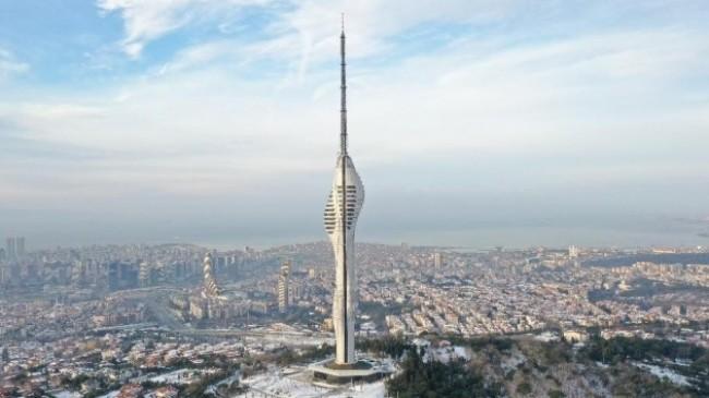 """Bakan Karaismailoğlu: """"Çamlıca Kulesi, Türk mühendislerinin eseri olarak tüm dünyaya hizmet edecek"""""""