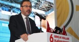 """Bakan Kasapoğlu: """"Biz sıradan bir parti değiliz"""""""