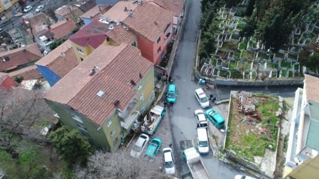 Beyoğlu'nda polisin kapısını kırarak girdiği evde şaşırtan manzara