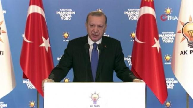 """Cumhurbaşkanı Erdoğan: """"Ailemize yönelik çok büyük operasyonlar çekiliyor"""""""