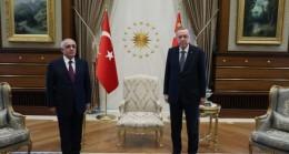 Cumhurbaşkanı Erdoğan, Azerbaycan Başbakanı Asadov'u kabul etti
