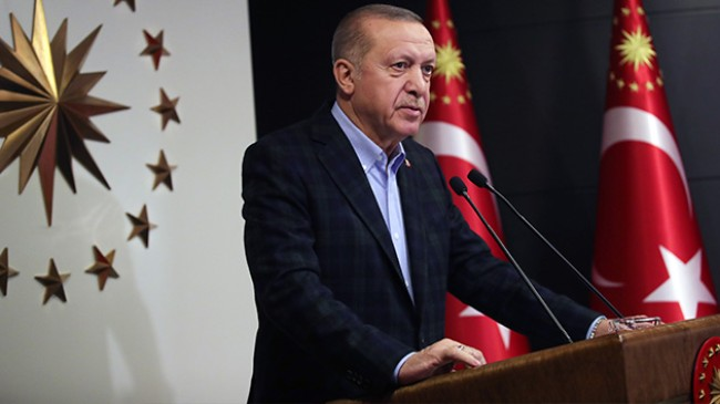 Cumhurbaşkanı Erdoğan'dan Beştepe'de önemli açıklamalar