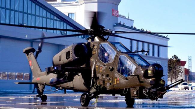 Emniyet'e ilk ATAK helikopteri teslim edildi