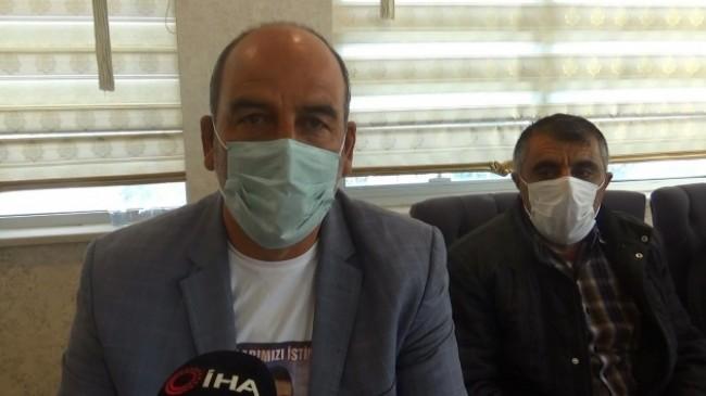 Evlat nöbetindeki babadan, Gara'ya giden HDP'li vekil Taşdemir'e tepki