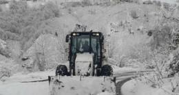 Giresun'da kar nedeniyle ulaşıma 173 köy yolu ulaşıma açıldı