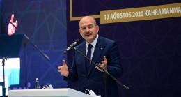"""İçişleri Bakanı Soylu: """"Uygur Türkü kardeşlerimiz ülkemizde al bayrak ve gök bayrak gölgesinde hür ve özgürdürler"""""""