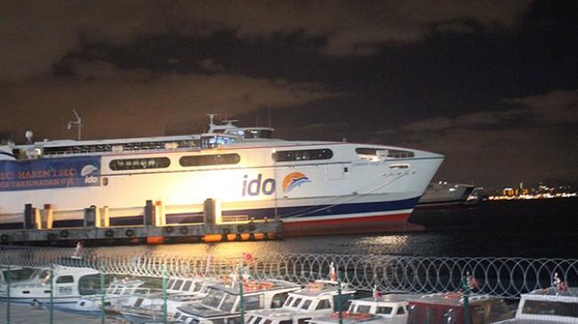 İDO, BUDO ve Şehir Hatları'nın bazı seferleri fırtına nedeniyle iptal oldu