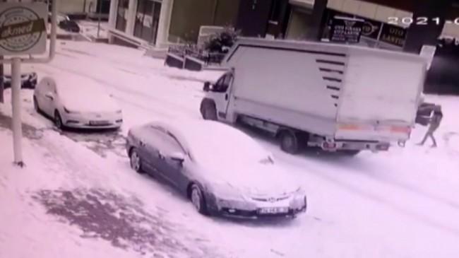 İstanbulluların karla imtihanı!