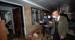 İzmir'de sel felaketinden etkilenen 948 hane ve iş yerine destek kararı
