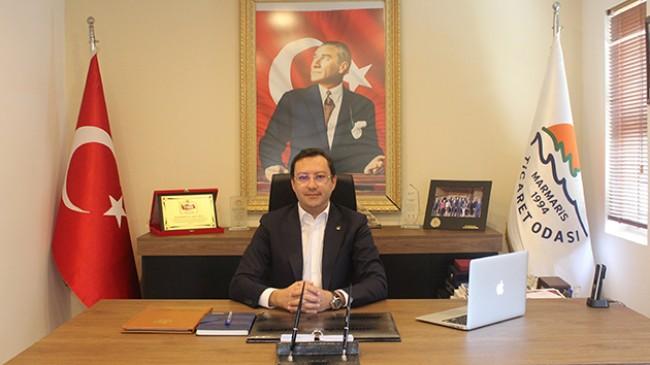Marmaris Ticaret Odası Başkanı Mutlu Ayhan; '' Tedbirin sonunda umut var''