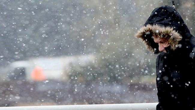 Meteorolojiden kuvvetli rüzgar ve yoğun kar yağışı uyarısı