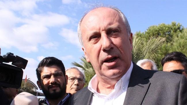 Muharrem İnce: 'Sahte CHP'lilerle yolumu ayırıyorum'