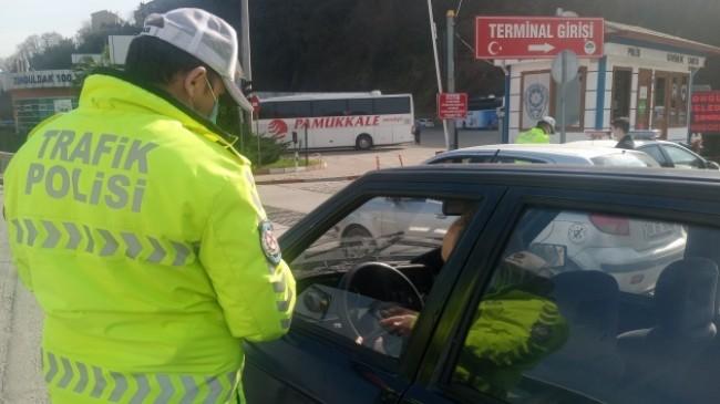 Radar cezası yiyen sürücü kolonya ile teselli buldu