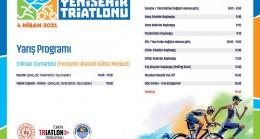 2. Yenişehir Triatlonu'nun Yarış Programı ve Parkurları Belli Oldu
