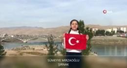 41 ilden, 41 öğrenci tek yürek oldu İstiklal Marşı'nı okudu
