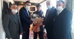 Karaman'da AK Parti ve MHP İl Başkanından şehit ailesine ziyaret
