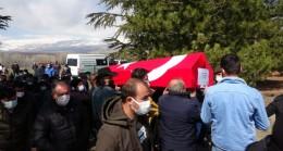 Kore gazisi Kabasakal son yolculuğuna uğurlandı