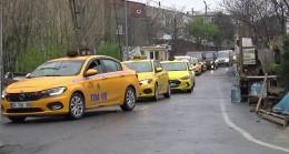 Hayatını kaybeden taksi şoförü 40 araçlık konvoy ile son yolculuğuna uğurlandı