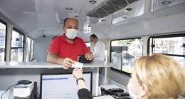 Büyükşehir'in Mersin 33 Kart Mobil Hizmet Aracı Silifke'de