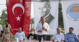 Başkan Seçer, Bayramın 2. Gününü Tarsus ve Çamlıyayla'ya Ayırdı