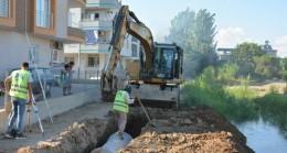 MESKİ, Tarsus'un Merkezinde Açıktan Akan Kanalı Kapattı