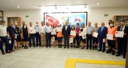 Başkan Seçer'den Büyükşehir Personeline Mesleki Eğitim Sertifikası
