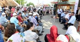 Başkan Seçer, Tarsus, Çamlıyayla ve Toroslar'ın Kırsal Mahallelerinde Vatandaşlarla Buluştu