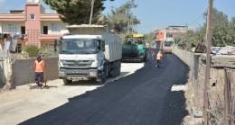 Tarsus Bolatlı Mahallesi'ne Büyükşehir'den Sıcak Asfalt