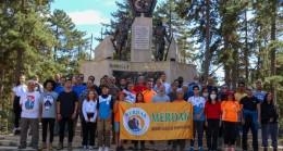 45 Dağcı Medetsiz Dağı'nda Zirveye Ayak Bastı