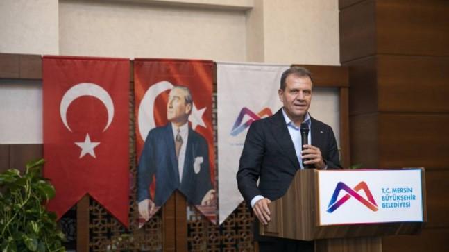 """Başkan Seçer: """"Farklı Fikirlerle Gelelim Ama Mersin'in Ortak Paydasında Buluşalım"""""""