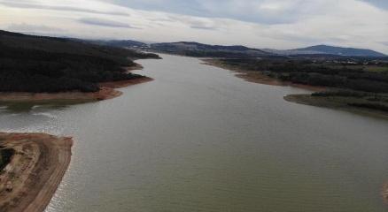 Ömerli Barajında sevindiren gelişme: Doluluk oranı yüzde 45.76ya yükseldi