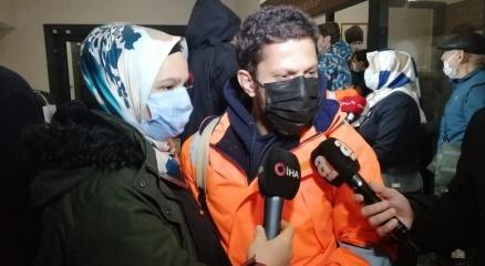 Korsanlardan kurtarılan 15 Türk gemici yurda döndü